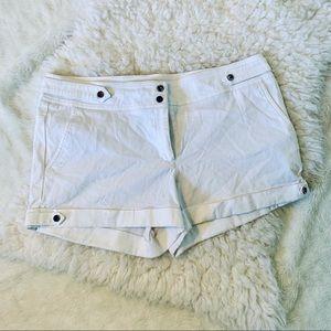 Cache white dressy shorts
